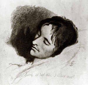 Portrait of John Keats by Joseph Severn