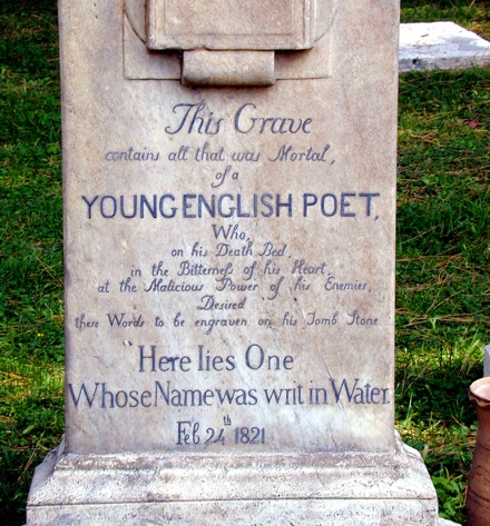 death in keatss poetry John keats poems, quotes  in three volumes of poetry recognition of his achievements as one of the leading poets of his time only came after his death.